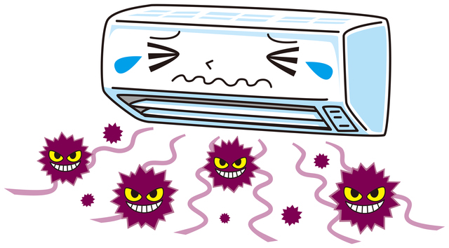 見えないエアコンの汚れ